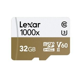 Image 2 - Thẻ nhớ Lexar Micro SD card Chuyên Nghiệp 1000x150 MB/S 32GB Class 10 64GB 128GB TF đèn Flash Đầu Đọc Thẻ Nhớ cho Máy Bay Thể Thao Máy Quay Phim