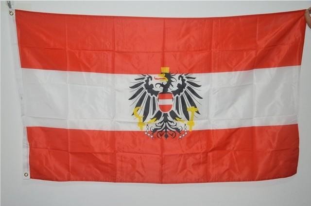 austria flag aut flag 90 150cm hanging austria national flag 3 5 ft
