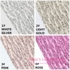 10PCS HOT STYLE 20X22CM High Quality DIY PU Lace Glittle Leather Per Pcs 10 Colors Can