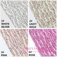 10PCS HOT STYLE 20X22CM High Quality DIY PU Lace Glittle Leather Per Pcs 10 Colors Can