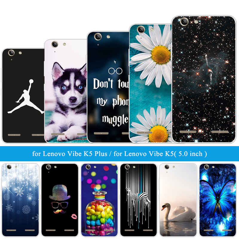 for <font><b>Lenovo</b></font> Vibe K5 Plus Back Soft TPU <font><b>Case</b></font> Silicone Cover for A6020 / <font><b>A6020a46</b></font> / Lemon 3 Funny Cat Phone <font><b>Cases</b></font> Customize Shell image