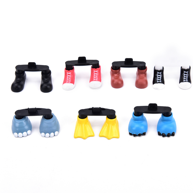 Creative Cute Shoes Feet Shaped Dustproof Stopper Kawaii Charge Port Dust Plug Suitable For Samsung For Android Phone