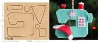 Mini sewing machine DIY wooden die/cutting tool die/ Scrapbook mold/YT0240