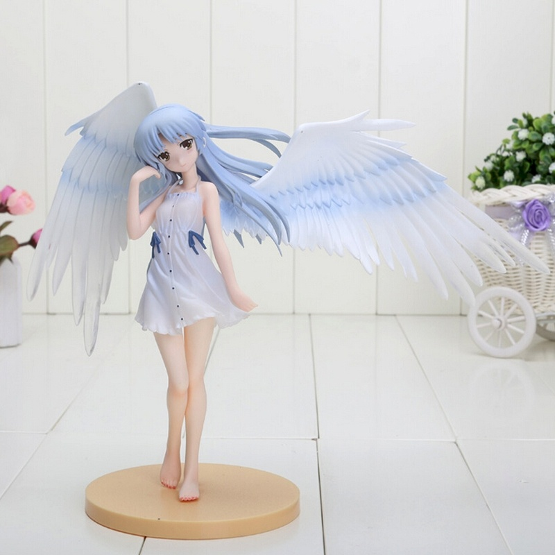 7.8 20cm FS Angel Beats Tenshi Kanade Tachibana Good Smile ver Limited 1/8 PVC Figure 20A anime figure action model toys sexy girl action figure angel beats tenshi kanade tachibana good smile ver limited 1 8 7 8 20cm pvc toy sg014