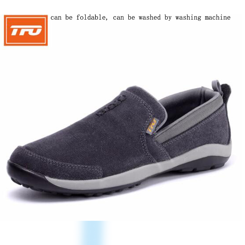 TFO Men's Walking Shoes outdoor sport Light-weight Comfortable Sneakers footwear Walking Shoes breathable foldable anti-slip new