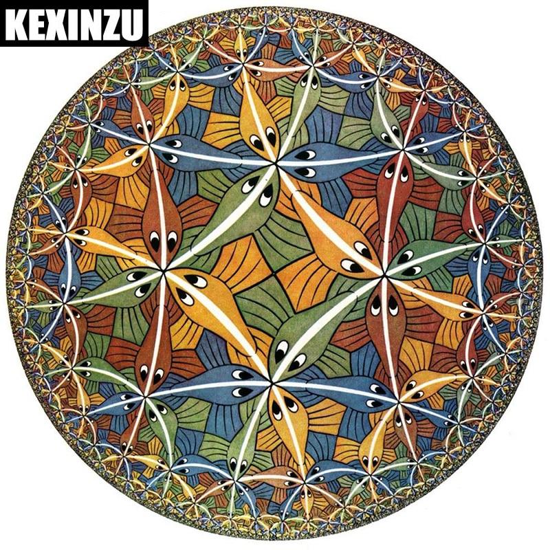 2018 új Teljes négyzet alakú kerek gyémántfestés Divat Art - Művészet, kézművesség és varrás