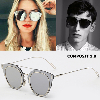 JackJad Fashion COMPOSIT 1.0 Metal Alloy POLARIZED Sunglasses Cool Brand Design Cat Eye Style Sun Glasses Oculos De Sol Gafas