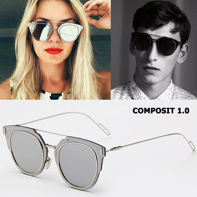 466220b911 JackJad Fashion COMPOSIT 1.0 Metal Alloy POLARIZED Sunglasses Cool Brand  Design Cat Eye Style Sun Glasses Oculos De Sol Gafas