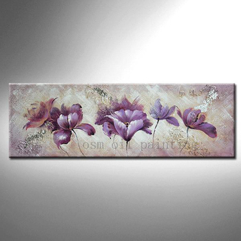 Top Skill Artist Hand Painted High Quality China Modern Flower Oil Painting on Canvas Decorative Home Hotel Wall Artwork Picture