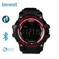 Bewot Smart Watch Smartwatch EX16 Bluetooth 4.0 Наручные Часы Водонепроницаемый IP67 СИГНАЛИЗАЦИЯ Шагомер Носимых Устройств для Android и iOS