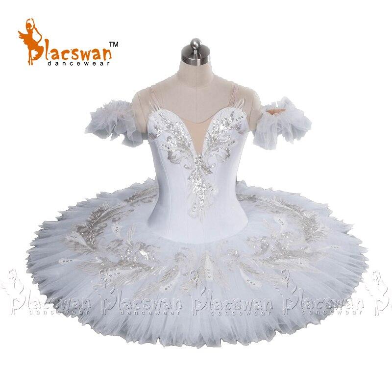 Adulto Bianco Candid BT676 La Bella Addormentata Balletto Classico Tutù di Balletto Professionale Tutu Bambini Schiaccianoci Pancake Tutu