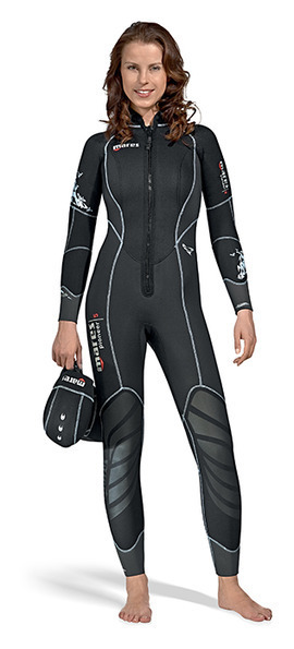 Mares 5mm Neoprene Pioneer Wetsuit Full Diving Suit with GlideSkin Surface  Men s Women s   She Dives 6f02ccb03