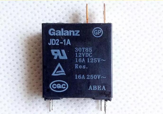 10 pcs/lot JD2-1A 12VDC JD2 1A JD2-1A-12VDC 12 V 16A DIP410 pcs/lot JD2-1A 12VDC JD2 1A JD2-1A-12VDC 12 V 16A DIP4