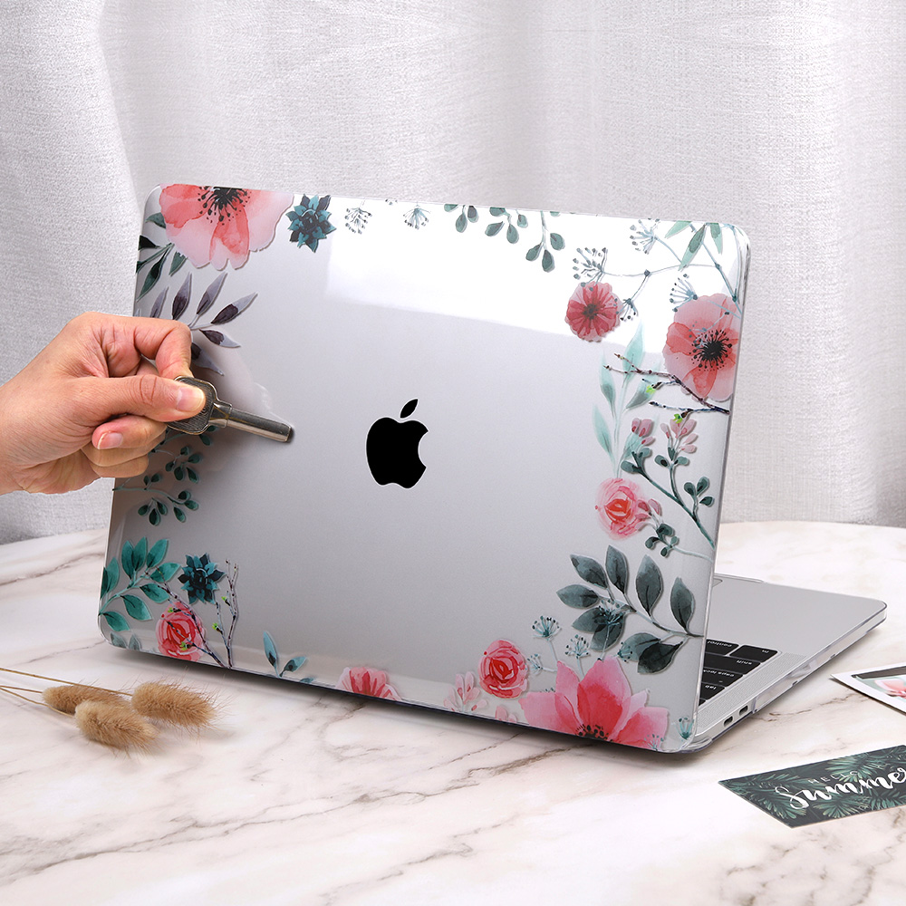 Floral Case for MacBook 155