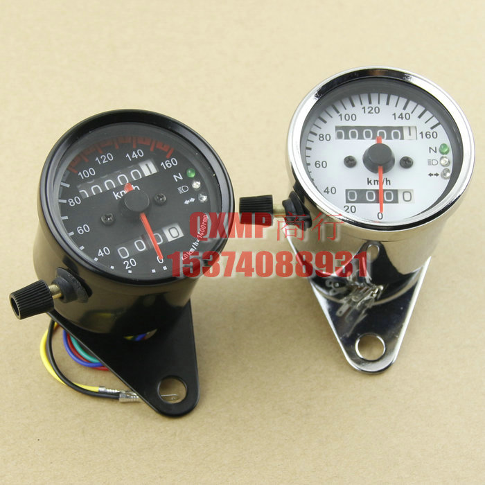US $21 88 |For Honda Steed 400 600 Steed 400 VT600 Vintage Motorcycle  Speedometer Odometer Gauge Miles Speed meter Free Shipping-in Instruments  from
