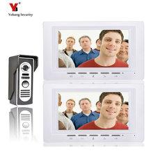 Yobang Security Freeship 7″Inch Color Video Door bell Phone /Video Doorbell /Video Intercom Monitor Kit IR Night Vision Camera