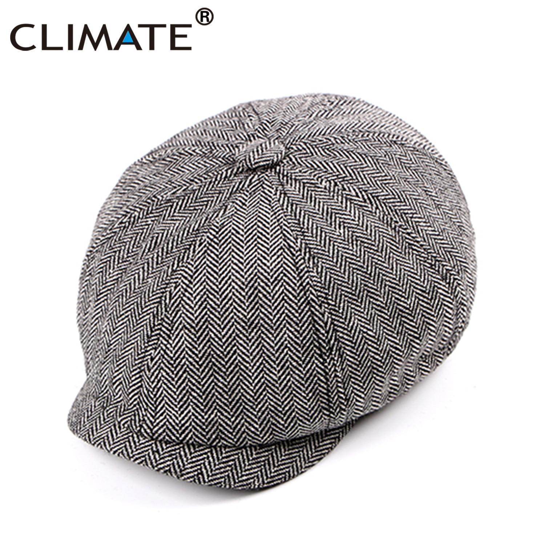 2018 invierno cálido boinas Vintage mujeres Newsboy Caps Flat Top sombrero  pintor sombrero militar de la 497583d20ad