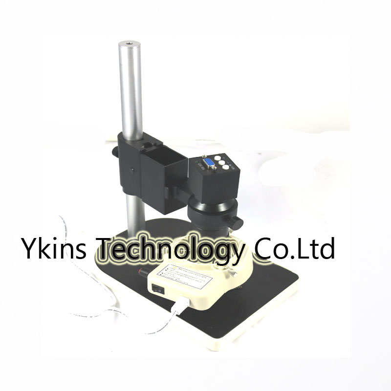 Newest 2MP 1080P Effective Pixels VGA outputs Industry Microscope Camera+130X C-mount Lens for LAB PCB Mobile phone repair 1080p vga outputs mini industry microscope camera 100x c mount lens 32 led adjustable ring light for lab pcb mobile phone repair