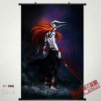 Anime Bleach Kurosaki Ichigo Home Decor Japan Poster Wall Scroll