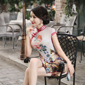 Traditional Dress Cheongsam Chinese Oriental Dresses Formal Party Dress Classic Beauty Style 2015 Vintage Women