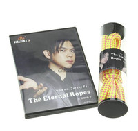 The Eternal Ropes By Jeremy Pei DVD Gimmick Mentalism Illusions Stage Magic Trick Close Up Comedy