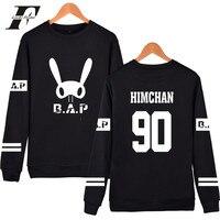 LUCKYFRIDAYF B A P Popular Groups 2017 Capless Sweatshirt Women Korean Popular Winter Casual Hoodies HipHop