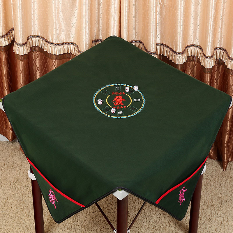 Reduce the noise Board game table Mah-Jong mat Silence Home Party mahjong mat table cloth 0.95*0.95m or 1.1*1.1m(China)