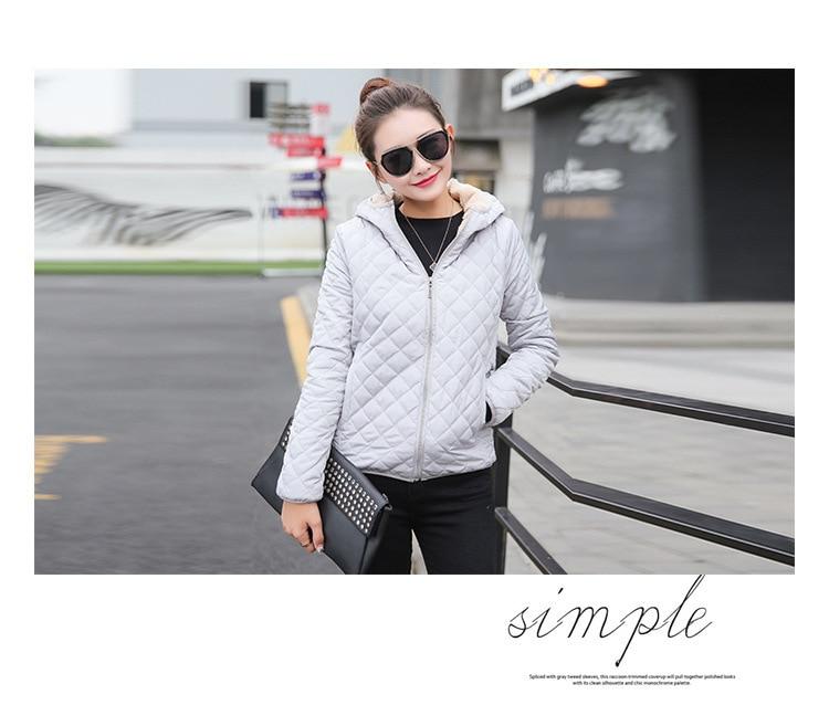 HTB1kJf9aN2rK1RkSnhJq6ykdpXaT Vangull New Spring Autumn Women's Clothing Hooded Fleece Basic Jacket Long Sleeve female Coats Short Zipper Casual Outerwear