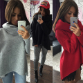 S-XL Christmas clothes 2016 New Arrival Women Winter Hoodies Scarf Collar Long Sleeve Fashion Casual Style Autumn Sweatshirts