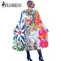 New 2016 Summer Fashion Individualism Letter Print Coat Bohemian Beach Casual Style Sunscreen Manteau Coat Clothing Women