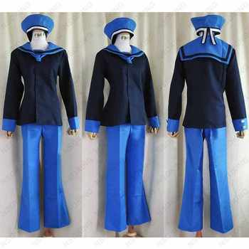 APH Axis Power Hetalia Norway Military uniform Cosplay costume Custom Made - DISCOUNT ITEM  18% OFF All Category