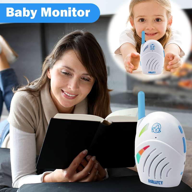 Cheap Mini Babyphone Baba Baby Monitor Baby Alarm Electronic Baby Sitter Two-Way Radio Baby Walkie Talkie Children Radio Nurse two way radio walkie talkie transceiver blue