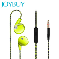 JOYBUY In Ear Earphone HIFI Stereo Earbud With Mic Heavy Bass Sound Quality Music Headset High