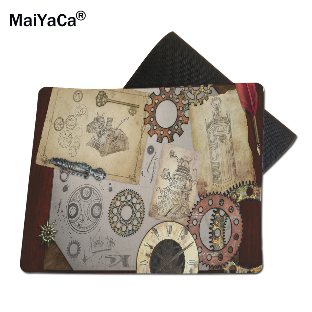 MaiYaCa Doctor Who Mouse Pad Size 18*22cm and 25*29cm
