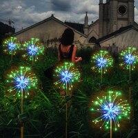 christmas lights Fairy light solar powered starburst lights 120 LED outdoor garden string light