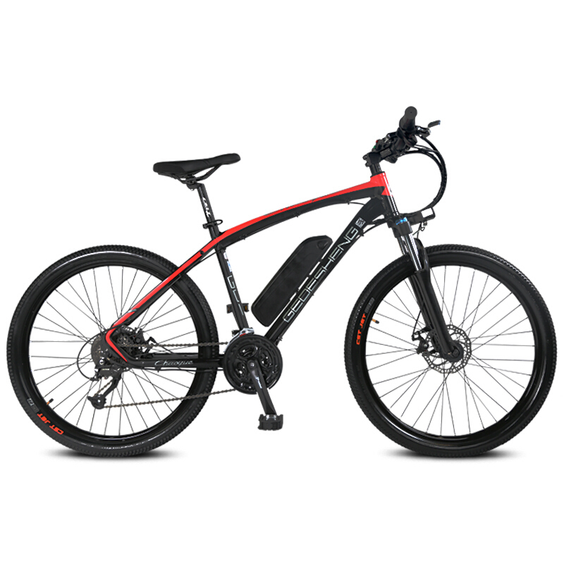 26-inch sepeda gunung listrik pintar pas 48 V baterai lithium 250 W - Bersepeda - Foto 4