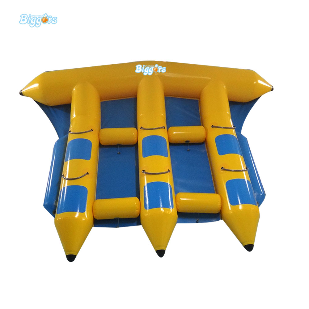где купить 6 Person Outdoor Inflatable Flyfish Fishing Banana Boat For Adventure по лучшей цене