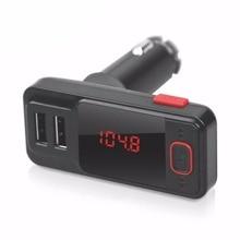 2016 Новый BT719S Dual USB Порт 2.1A Автомобильный MP3 плеер Беспроводной FM Передатчик Модулятор USB SD MMC ЖК Дистанционного управления