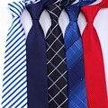 20 lazos formales de estilo Vestidos de negocios de la boda clásico de los hombres de la raya de la rejilla 8 cm Corbatas vestido de moda accesorios para hombres corbata