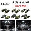19 unids X Error libre LLEVÓ Kit de lámpara de luz paquete interior Para Mercedes Benz A class W176 A180 A200 A260 A250 A45 AMG (2013 +)