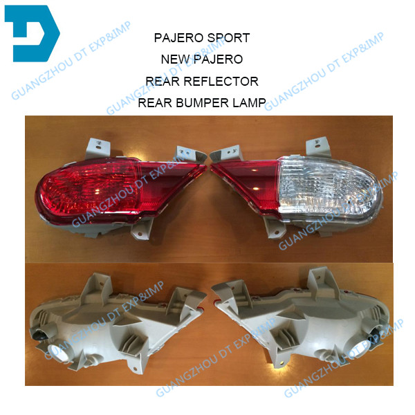 FULL RED REAR FOG LAMP FOR PAJERO SPORT REAR BUMPER LAMP FOR MONTERO SPORT CHALLENGER PARKING LAMP CHOOSE THE VERSION YOU NEED лодка intex challenger k1 68305