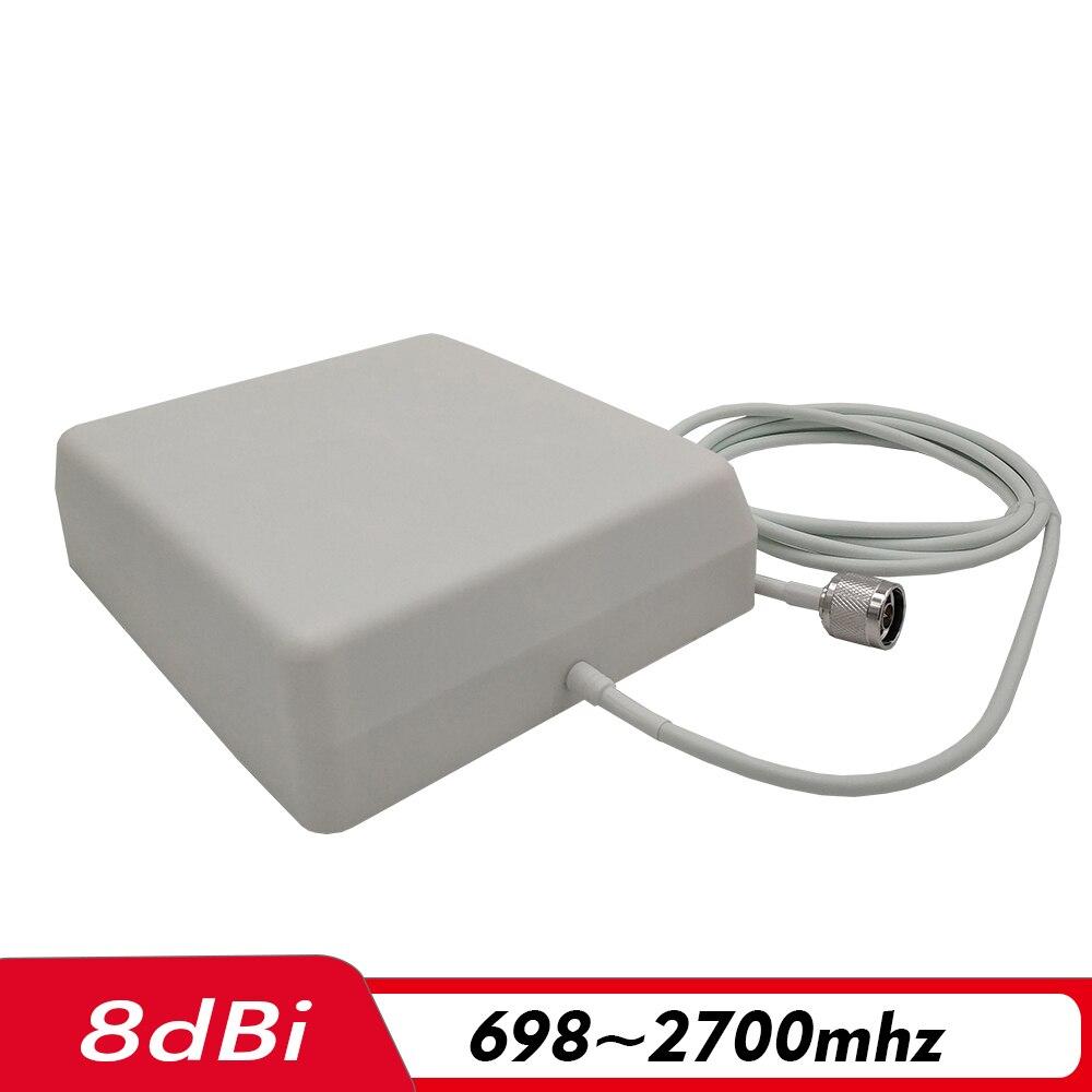 Amplificateur de Signal à trois bandes 2G 3G 4G GSM 900 + (B1) WCDMA 2100 + (B7) FDD LTE 2600 répéteur de Signal de téléphone portable Kit d'amplificateur cellulaire Mobile - 4