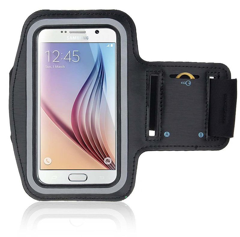 Waterproof Sport Arm Band Case For Samsung Galaxy S3 S4 S5 S6/Edge S7 S8 Plus Arm Running Accessory Band Gym Pounch Belt Cover
