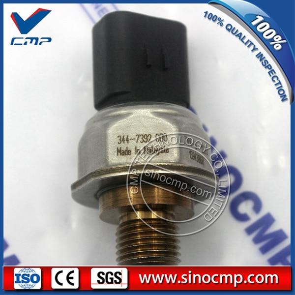 SINOCMP Oil Diesel Common Rail Pressure Sensor 344-7392  SINOCMP Oil Diesel Common Rail Pressure Sensor 344-7392