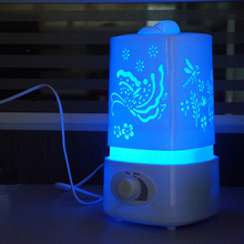Ultrasonic Air Humidifier and Essential Oil Diffuser