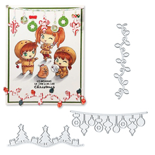 Julyarts Metal Christmas Tree Scrapbooking Dies for Card Making DIY Handmade Templates Cutting