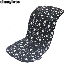Baby Stroller Cushion Child Thick Baby Infant Stroller Car Seat Pushchair Cushion Cotton Cover Mat Baby