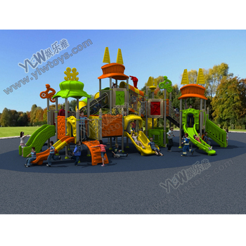 large amusement plastic outdoor playground slide custom color with CE/TUV park playground sport style equipment play structure