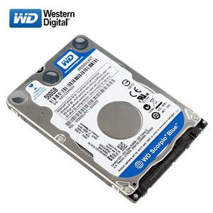 "Image 2 - WD Brand 500Gb 2.5"" HDD SATA Internal Hard Drive 500G HD Hard Drive 3 6GB/s 5400 7200RPM Blue hard disk for Laptop Free shipping"