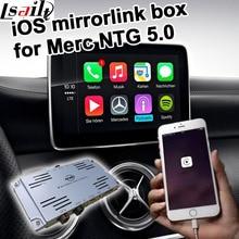 Apple iOS espejo cuadro de enlace para el Mercedes benz NTG 5.0 A B C E GLA GLC GLE command & auido20 etc
